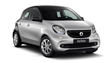 smart forfour  66 kW  turbo